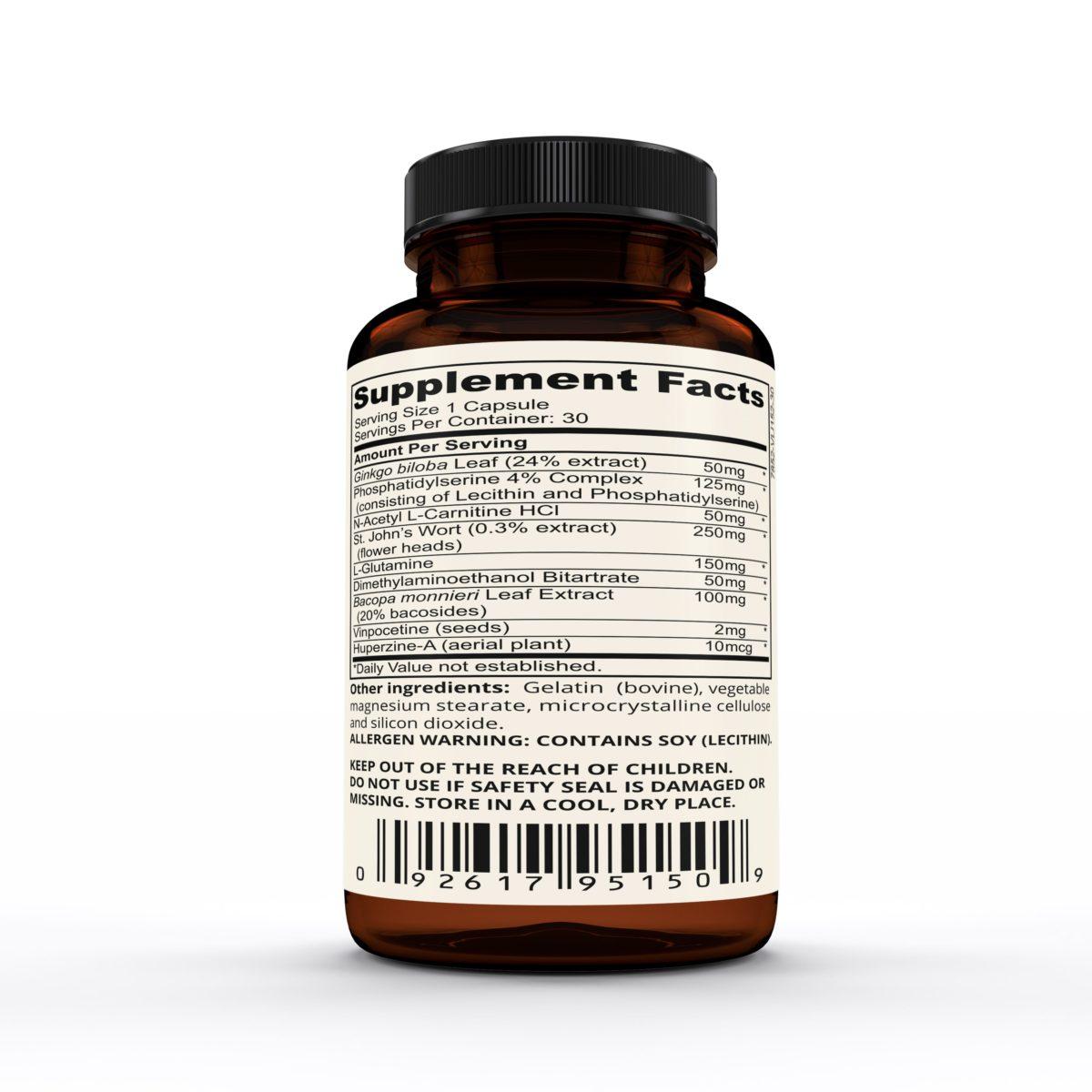 nootrolux supplement facts