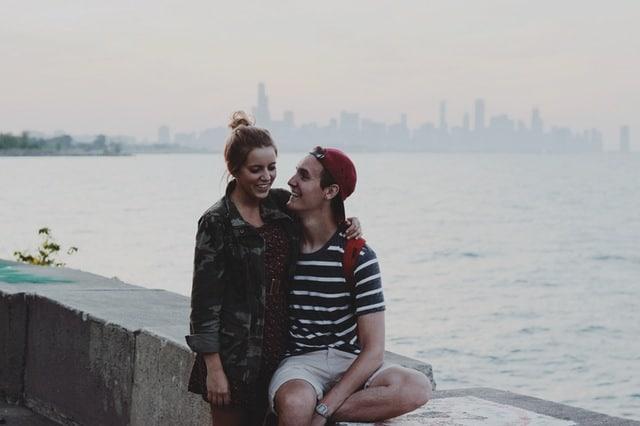hug couple oxytocin