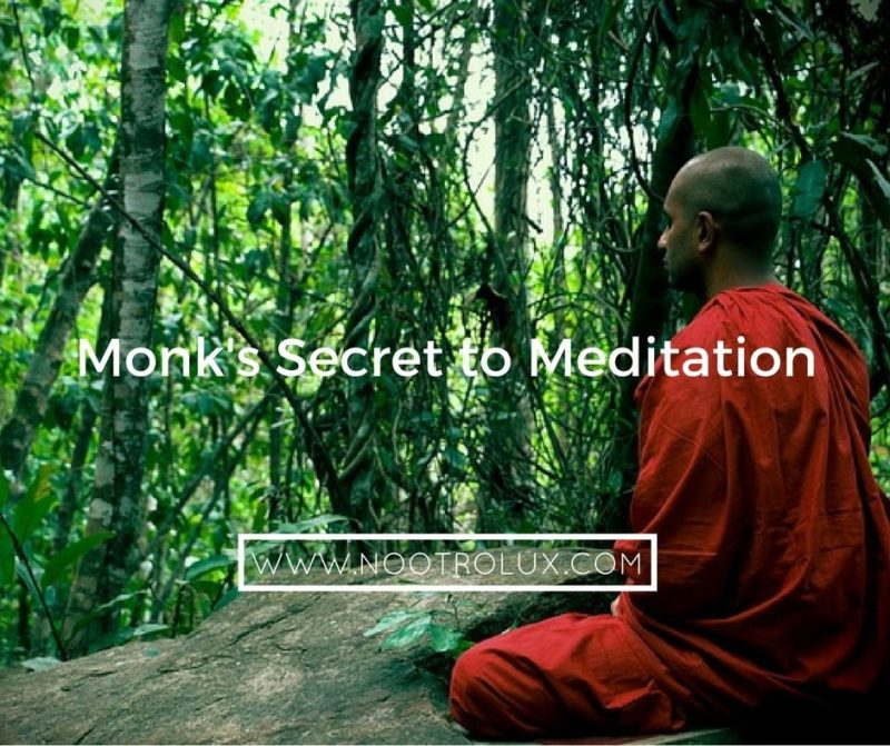 monk's secret meditation