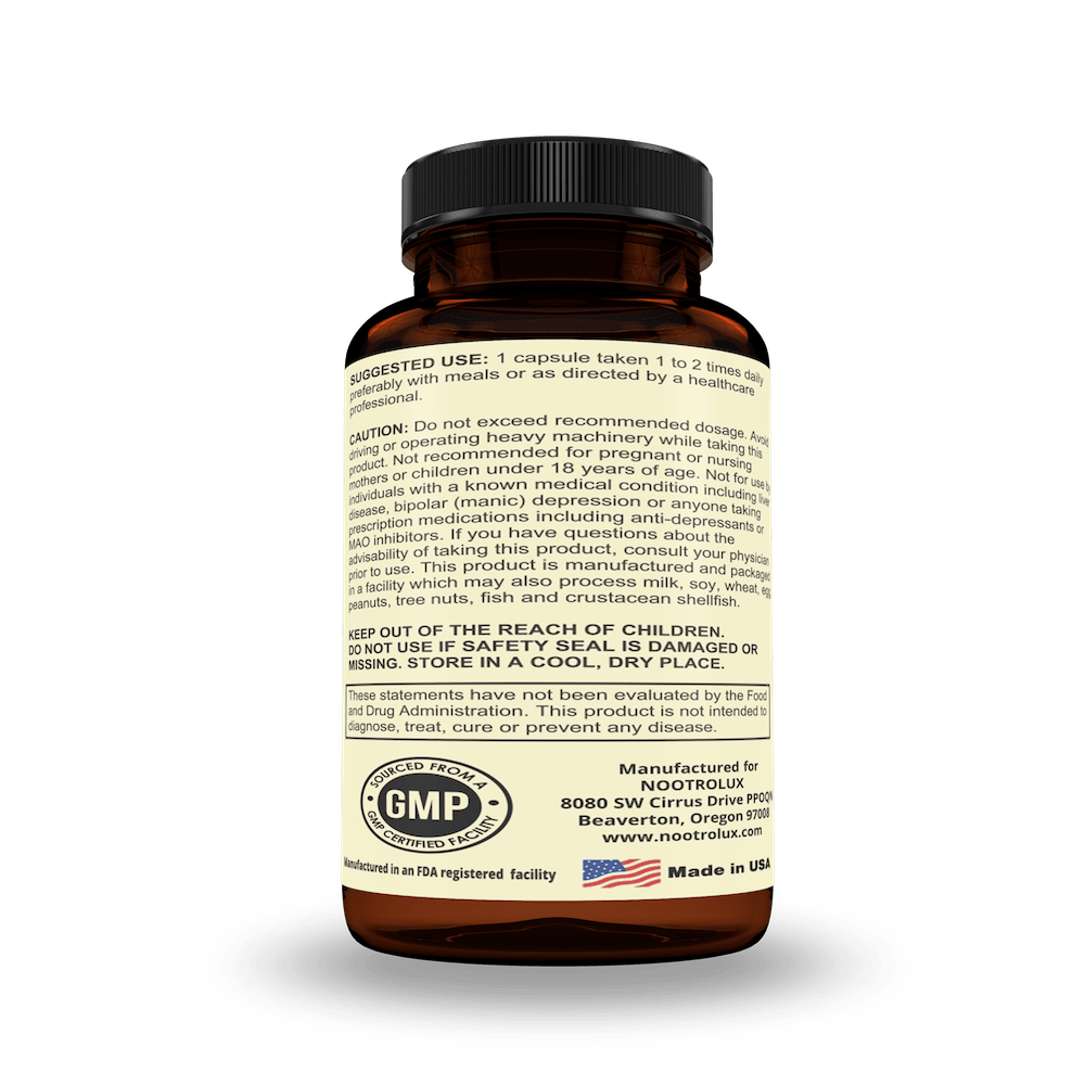 Best Nootropic Supplement Facts